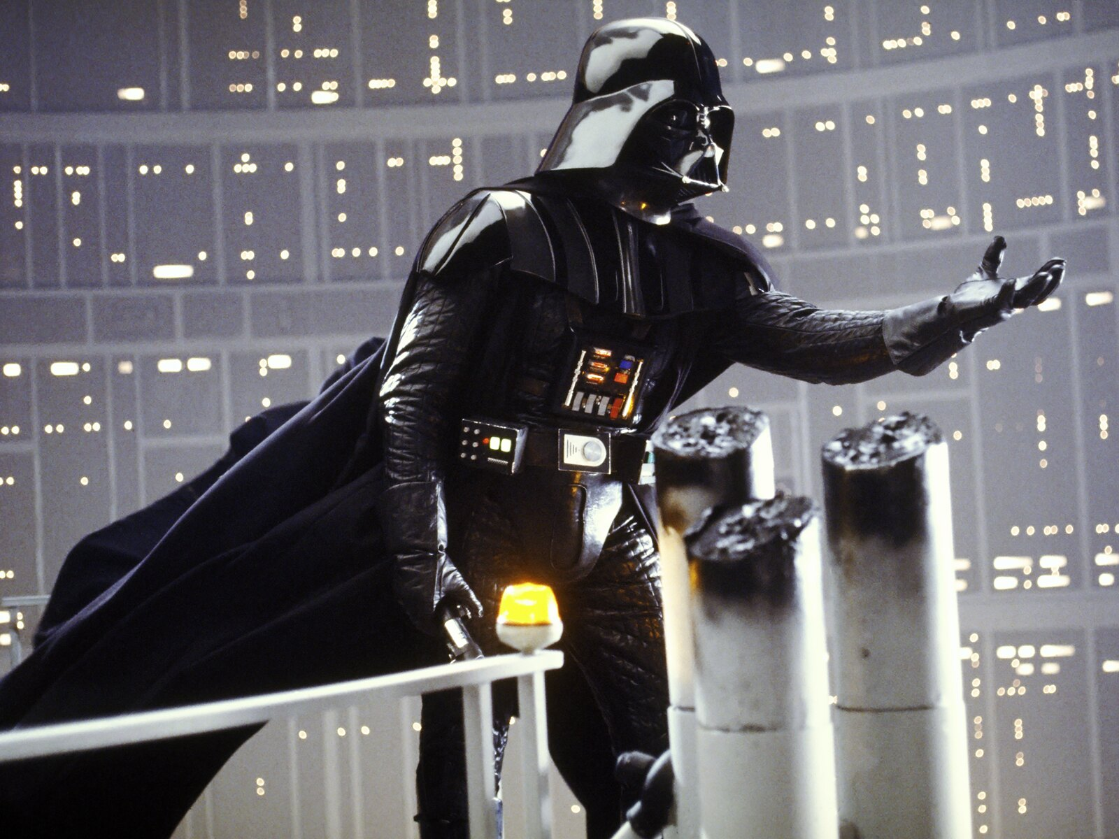 1980s Villains - Dave Prowse and James Earl Jones as Darth Vader from Star Wars: The Empire Strikes Back (1980)