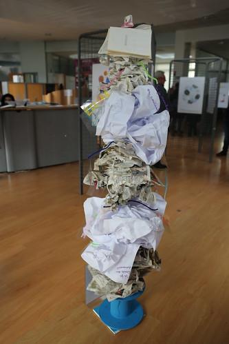 Printemps des poètes : les élèves de l'école municipale d'arts plastiques exposent