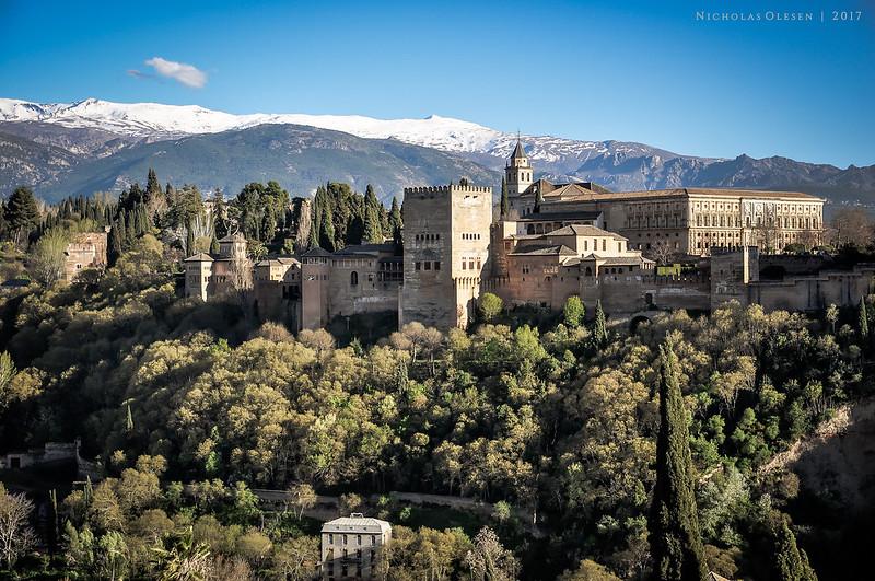 Spain   Granada - Alhambra