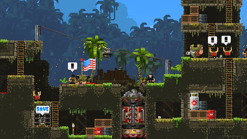 Devolver Roundup - Broforce on PS4 | by PlayStation.Blog