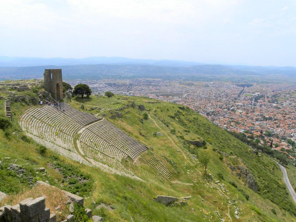 Image result for pergamon amphitheatre