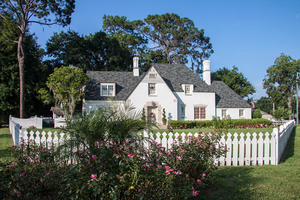 American Dream Home With White Picket Fence Live Oak Flo Flickr