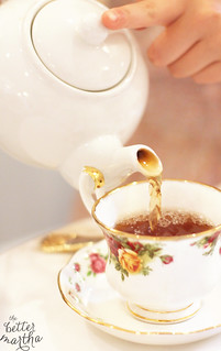 pouring tea | by The Better Martha