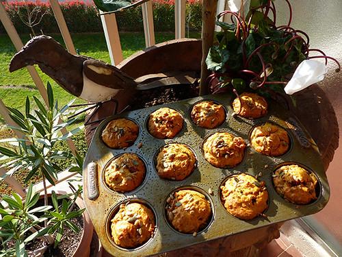 pie et muffins