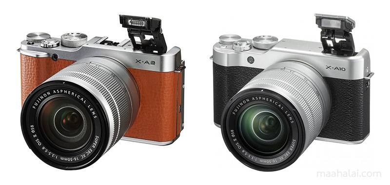 Les appareils X-A3 et X-A10 de Fujifilm bénéficieront d'une mise à jour via un nouveau firmware