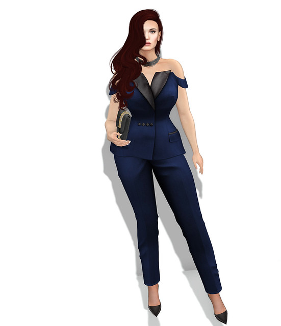 Suitably attired , Malena Von Dash