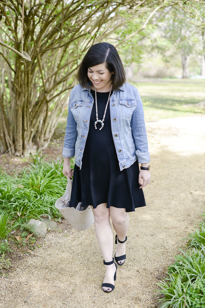Black Swing Dress-@headtotoechic-Head to Toe Chic
