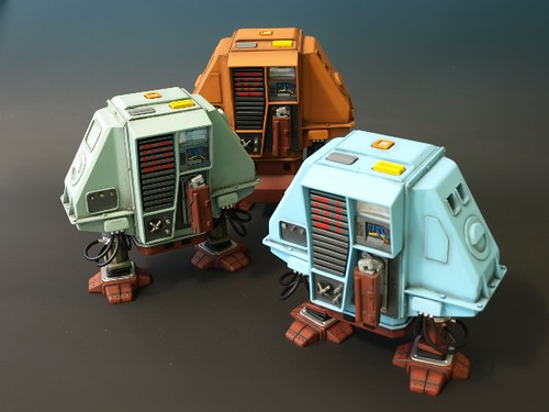 Silent Running - The Droids