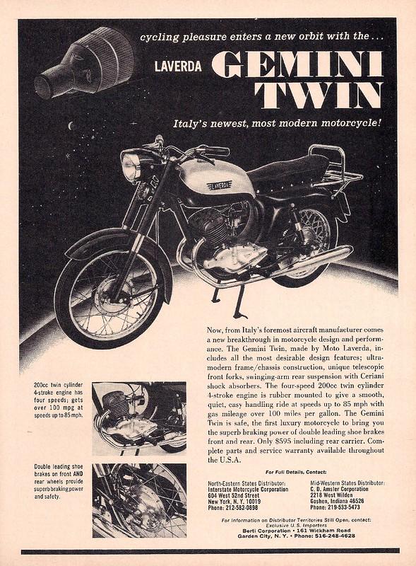 Laverda Gemini Twin