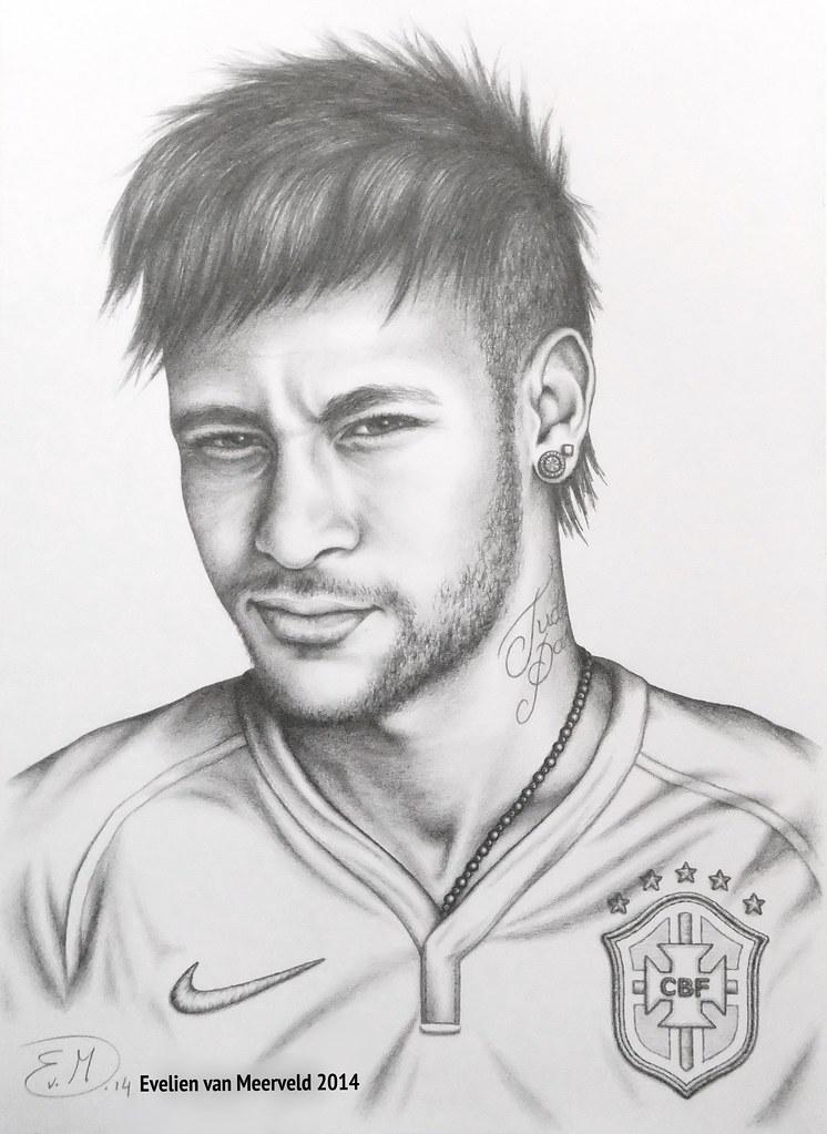 Neymar Jr By Evelienvm