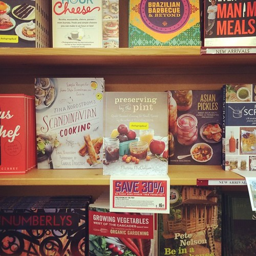 I just signed all the copies of my book at  the Powell's on Hawthorne! Go get 'em! | by Marisa | Food in Jars