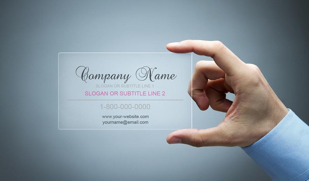 Elegant plastic business card design an elegant plastic bu flickr 1800businesscards elegant plastic business card design by 1800businesscards reheart Gallery