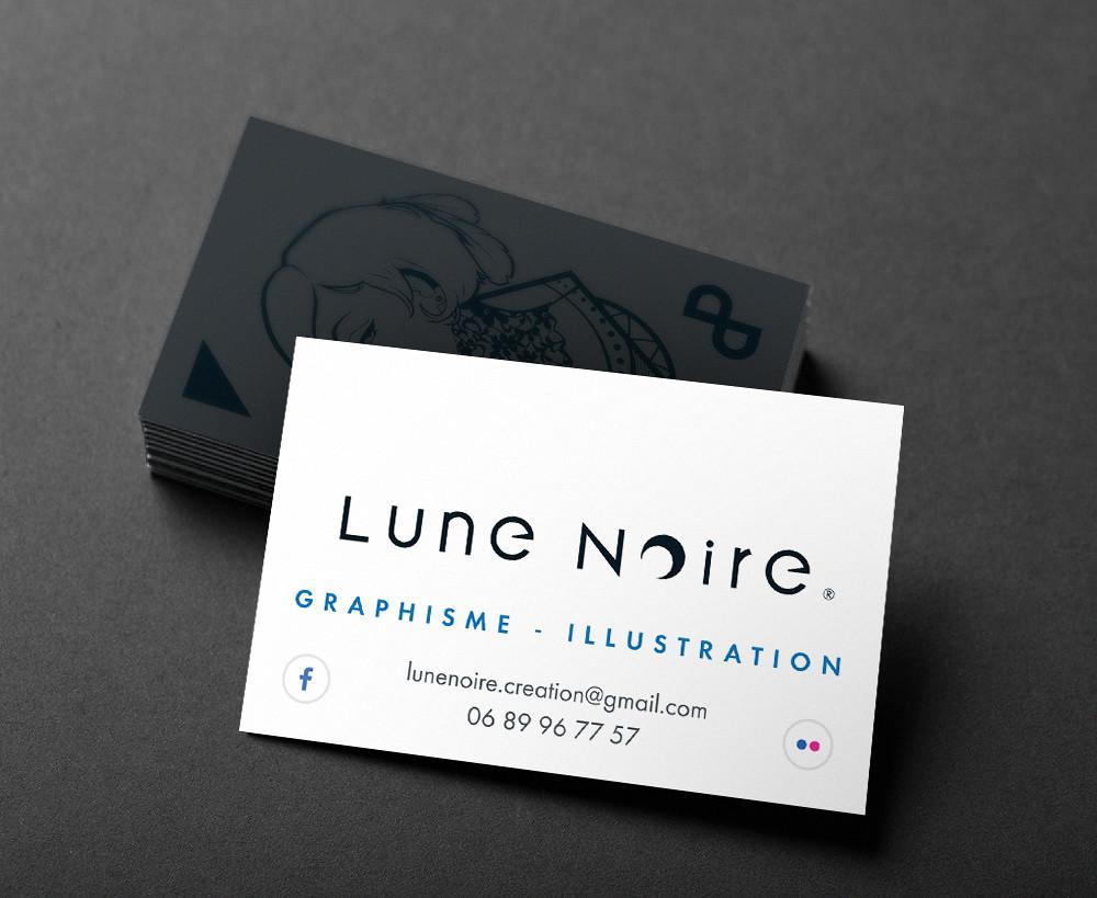 Lune Noire Carte De Visite 2017
