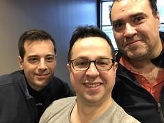 Fede con Valencianos Julio y Manuel