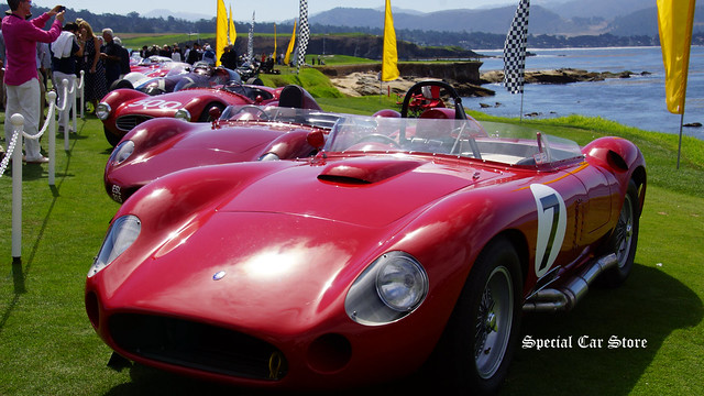 Celebrating the Centennial of Maserati at Pebble Beach Concours d'Elegance 2014