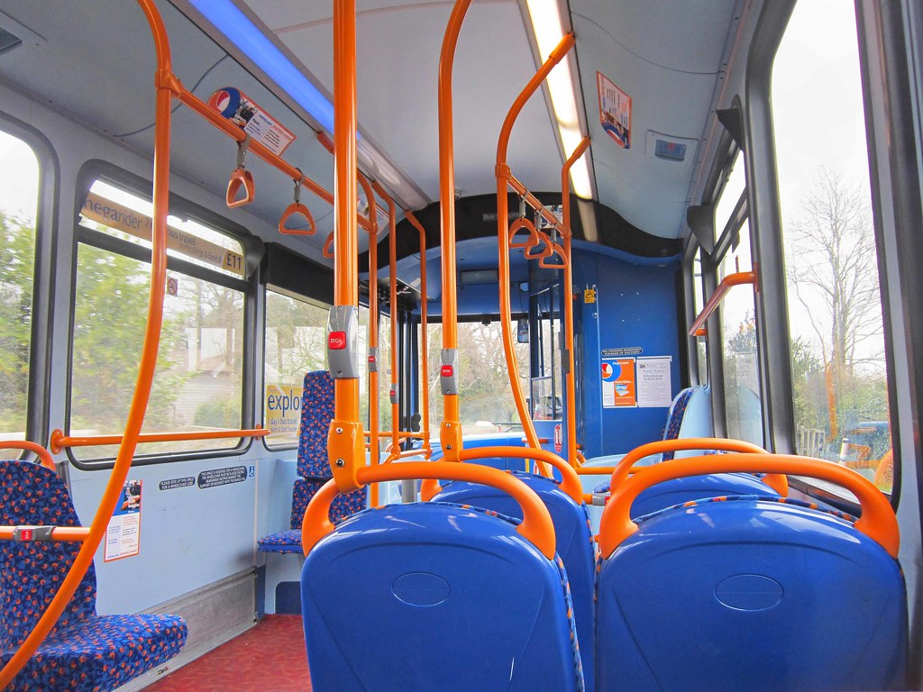 ... Stagecoach in Hastings 36487 GN12CKL (interior) | by harryjaipowell
