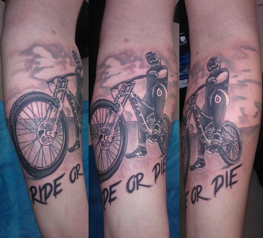 Ride Or Die Bl Design Tattoo Studio Flickr