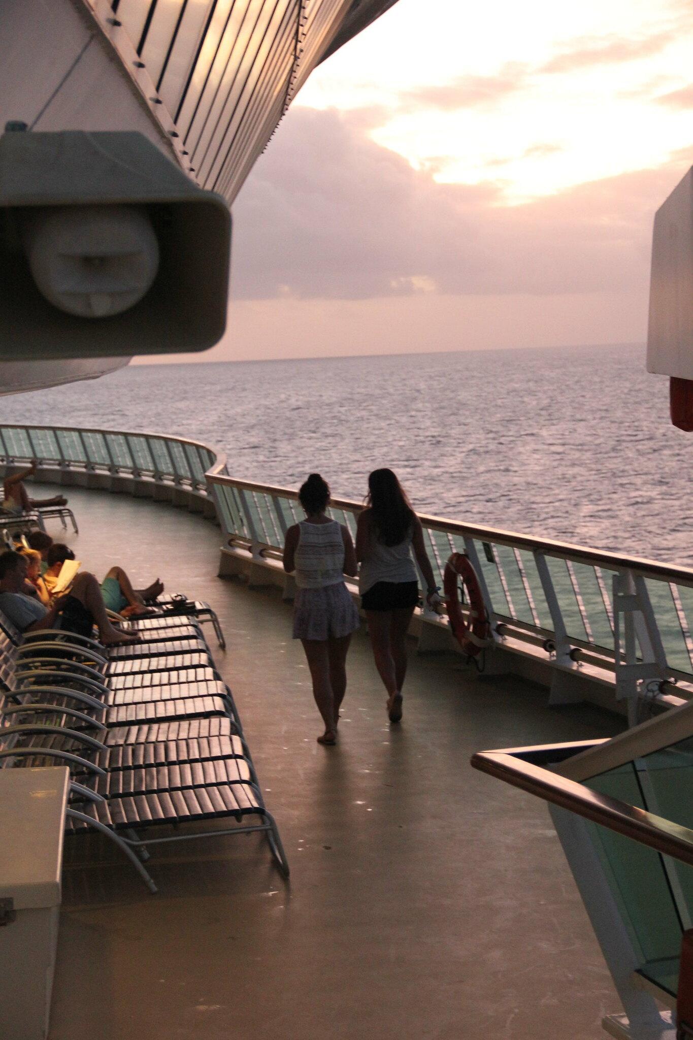 Com um pé sempre lá fora: um cruzeiro nas Caraíbas