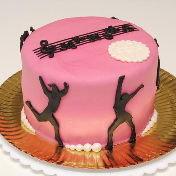 Show Dance Birthday Cake Zara Miravent Flickr