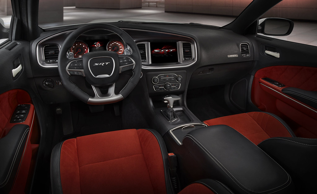 2015 Dodge Charger Srt Hellcat Shown In Ruby Red Alcantar Flickr
