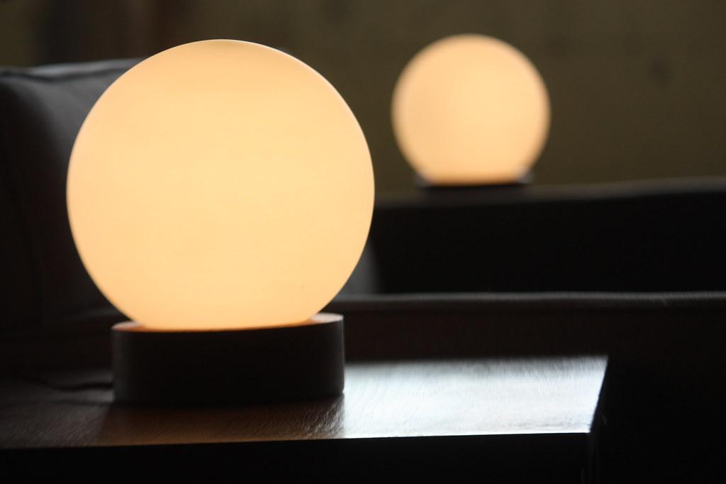 Subdued laurel midcentury modern globe table lamps usa flickr subdued laurel midcentury modern globe table lamps usa 1960s by kennyk aloadofball Gallery