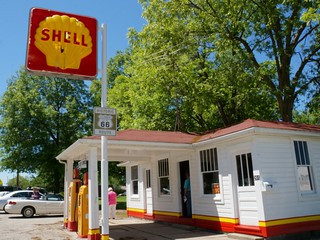 Soulsby Service Station - Route 66, Mt. Olive, Illinois | by RoadTripMemories
