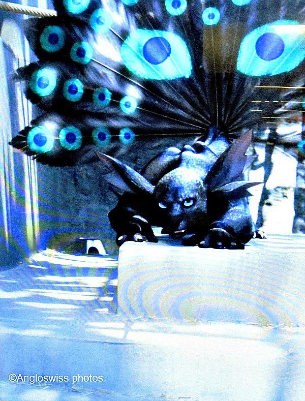Blue monster film
