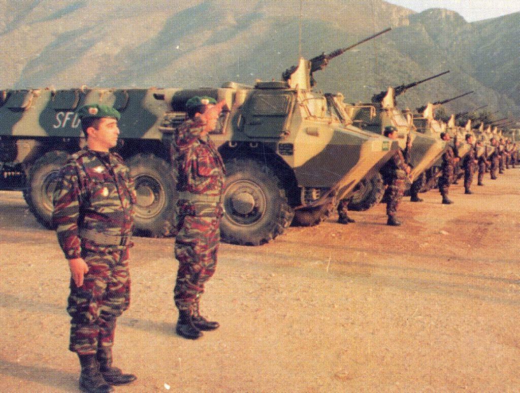 Les F.A.R. en Bosnie  IFOR, SFOR et EUFOR Althea 32557725710_d01ffdd7f4_o