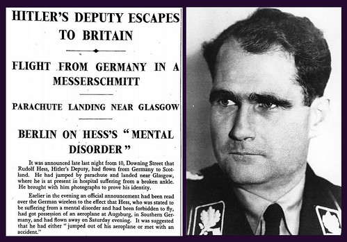 10th May 1941 - Rudolph Hess escapes to Britain | by Bradford Timeline