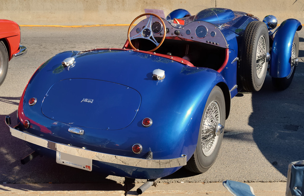1954 Allard J2x Sports Car Cadillac 331 Cid Ohv V8 Ora Flickr