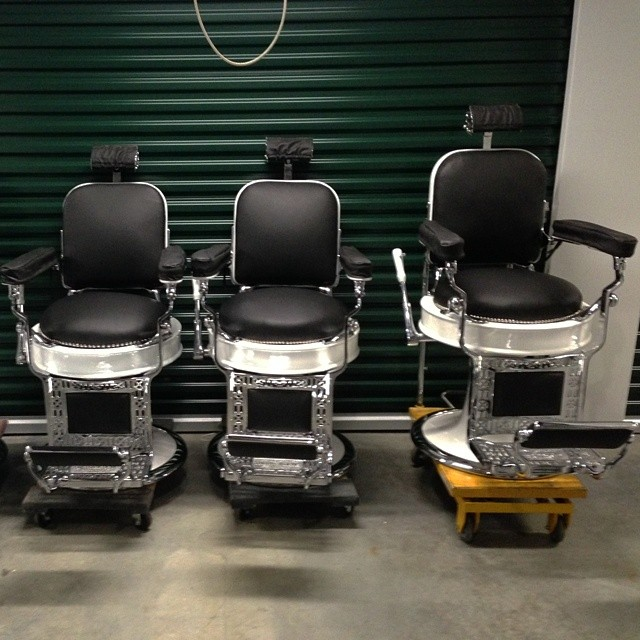 Wonderful ... CHAIRS$$$$$ : ) Antique Barber Chair