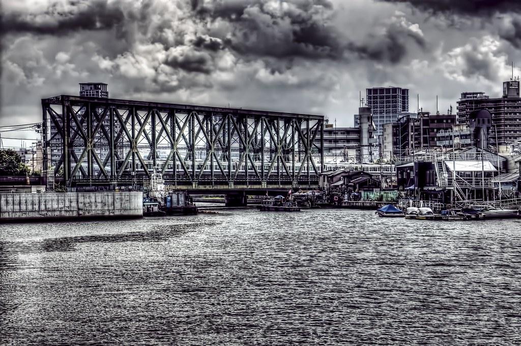 JR岩崎運河橋梁 | t f | Flickr