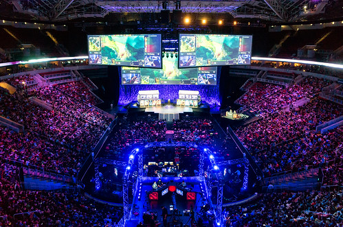 The International at KeyArena | by Dota 2 The International