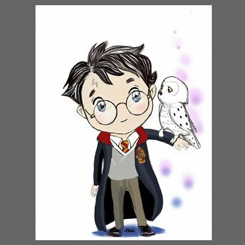 Harry potter disegno per una collaborazione con bollicin for Disegno cavallo per bambini