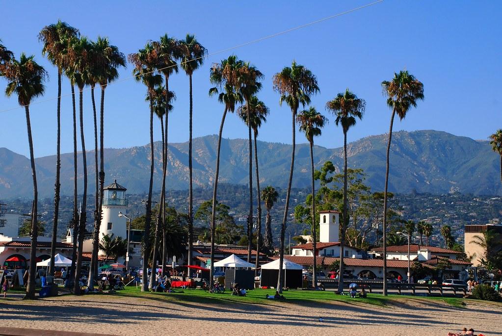 Santa Barbara Beach, Santa Barbara, California