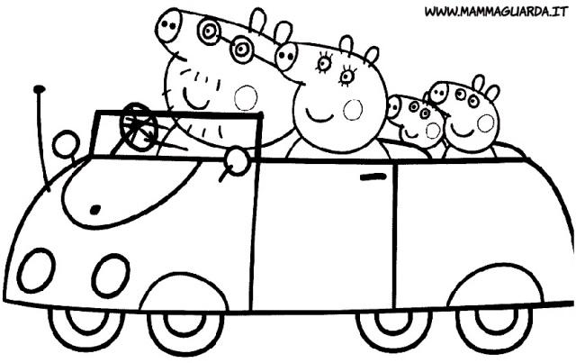 Famosos desenhos-para-colorir-carros Desenhos do Peppa Pig para co… | Flickr JI46
