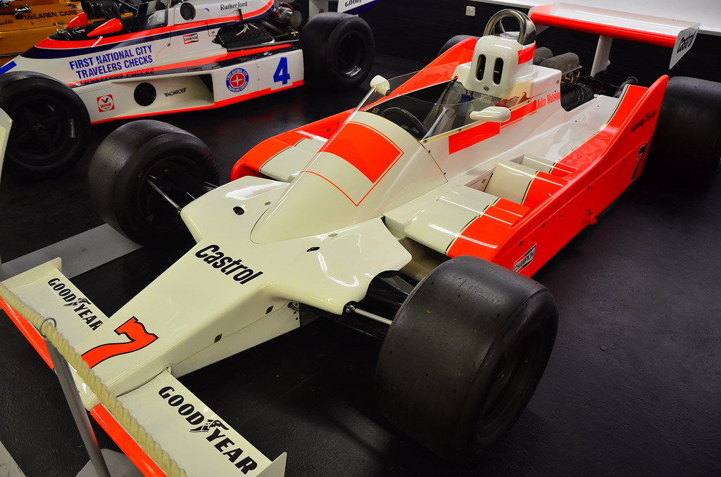 the 1979 mclaren mp28-3 formula 1 racing car, drivenjo… | flickr