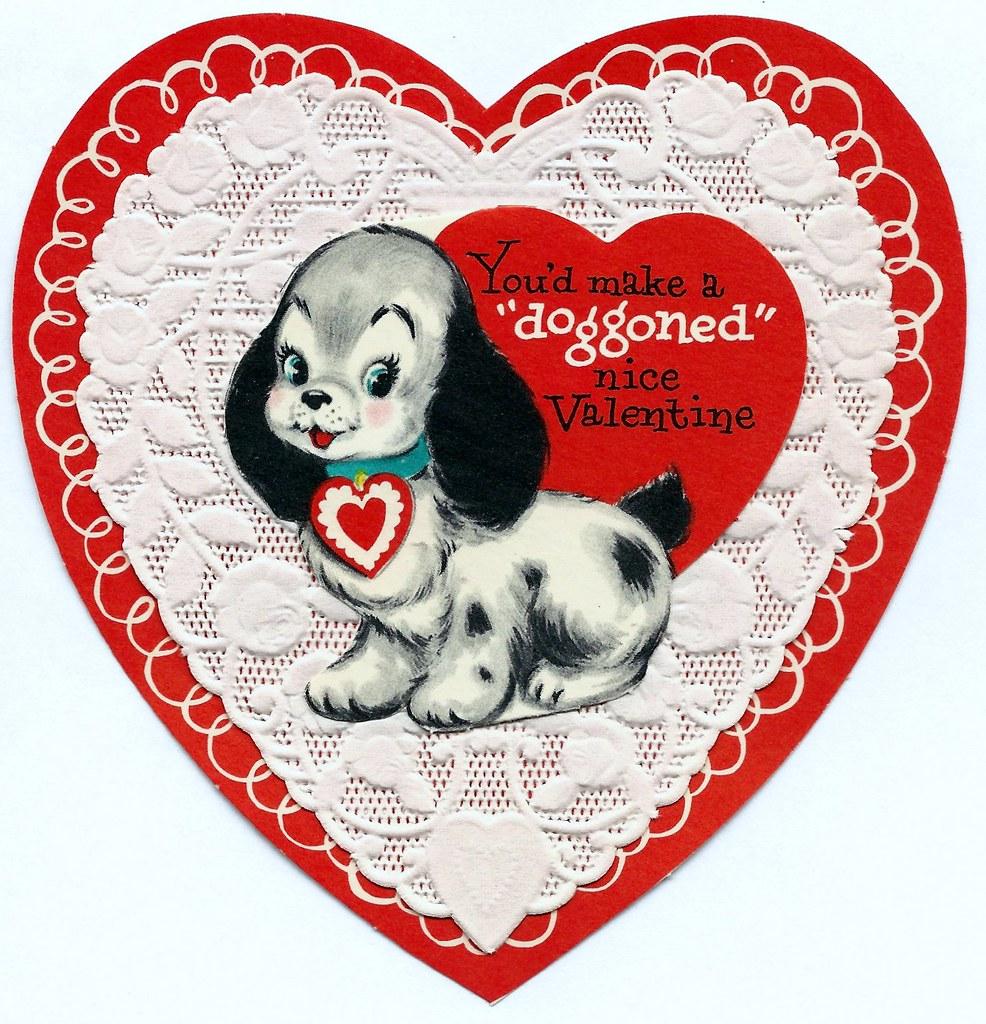 Vintage valentine day greeting card by american greetings flickr vintage valentine day greeting card by american greetings youd make a doggoned nice m4hsunfo