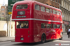 AEC Routemaster - JJD 408D - RML 2408 - London Transport - Jean & Victor Wedding Day - London - 140926 - Steven Gray - IMG_0160