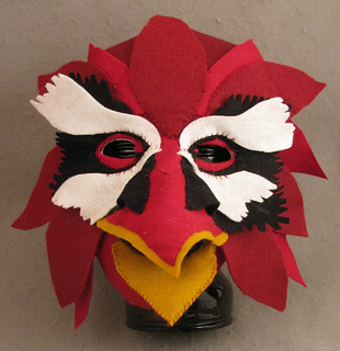 Bird Mask-erpiece by Kathy Turner | by Del Ray Artisans