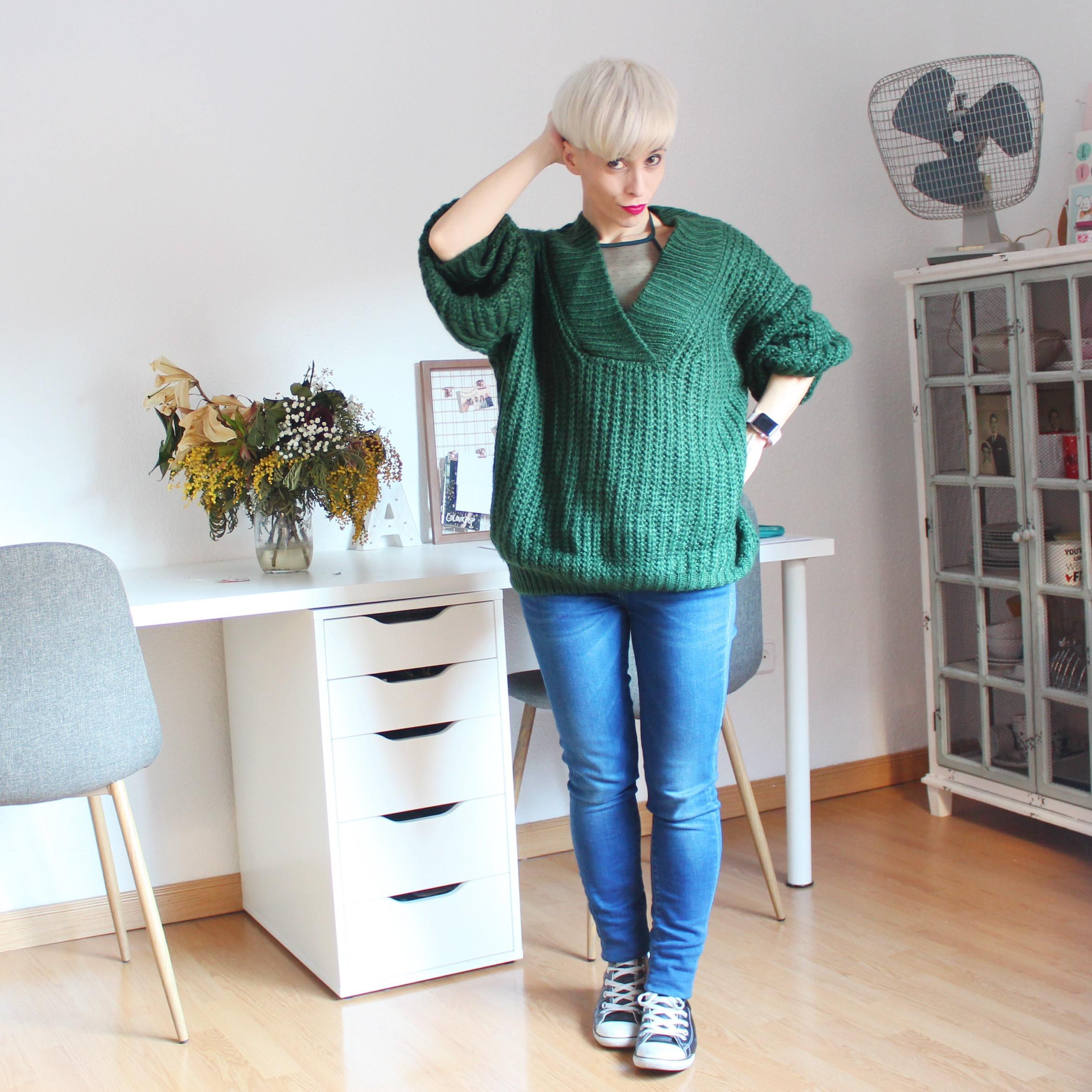 Outfit jersey oversize romwe