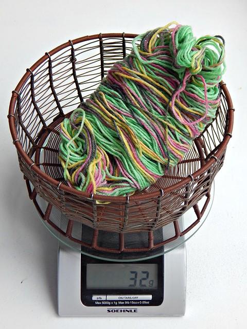 зеленая пряжа | green yarn