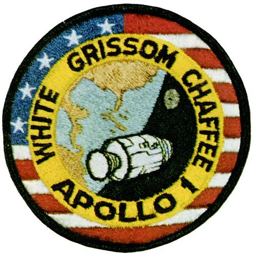 Apollo 1 | The Apollo 1 crew patch Astronauts: Gus Grissom ...