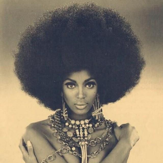 Natural Hair Kinky Curly Hair Naomi Campbell Hairstyle Na Flickr