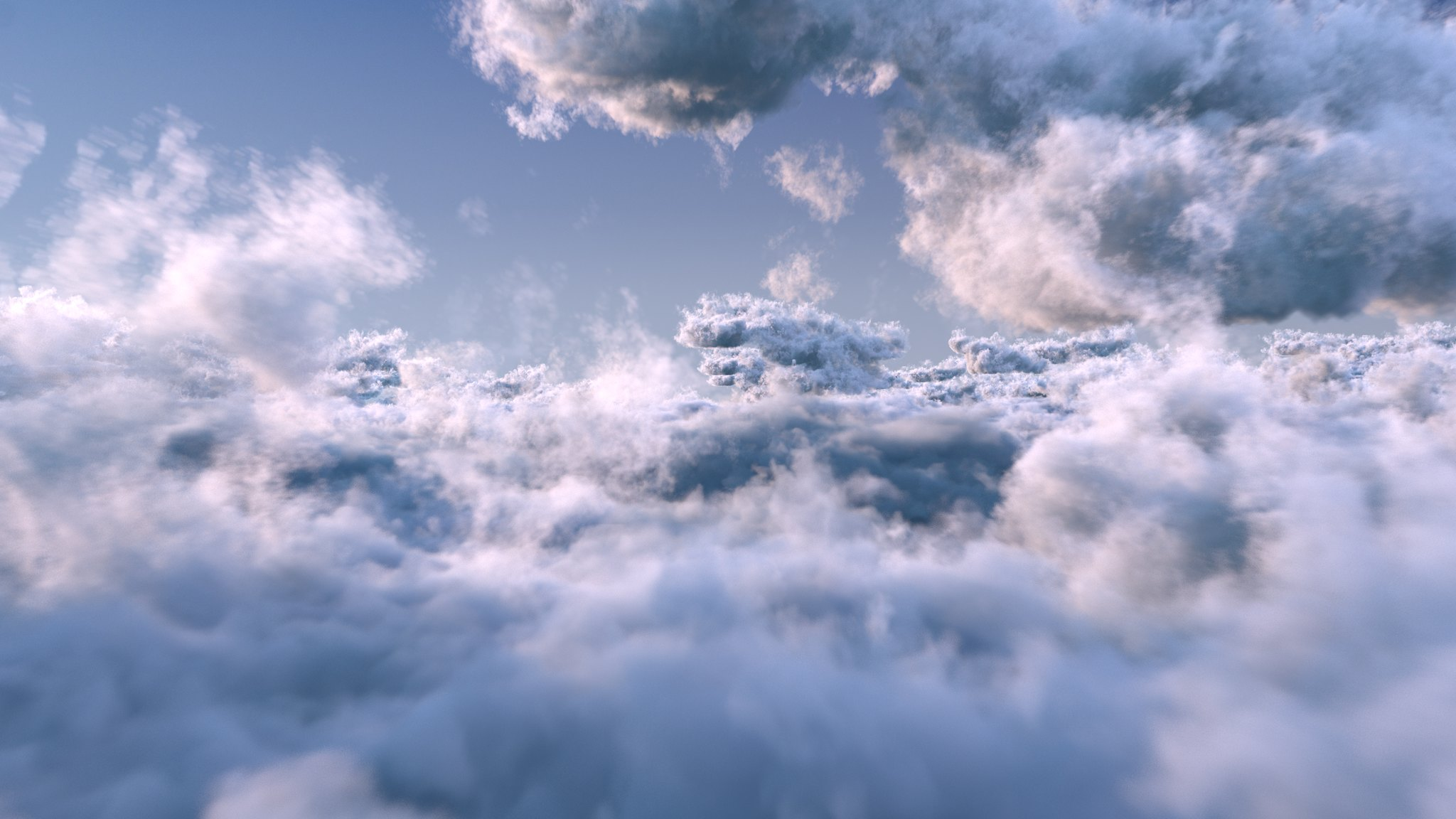 clouds by binary asci