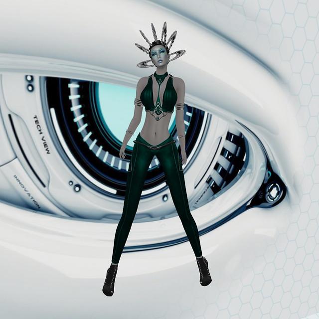 Wicca's Wardrobe - Samara Outfit (Cyber)