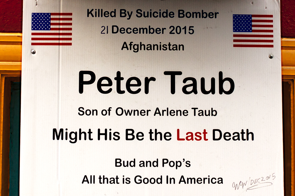 Killed by Suicide Bomber--Washington (detail)