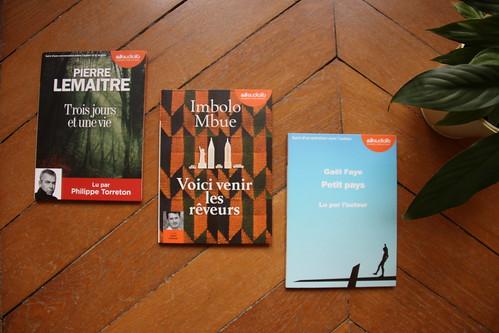 Trois jours et une vie de Pierre Lemaître // Voici venir les rêveurs de Imbolo Mbue // Petit pays de Gaël Faye