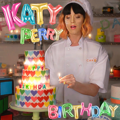 Katy Perry - Birthday | Wanted something official looking ...