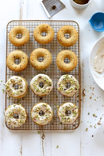 Baked Brown Butter and Pistachio Doughnuts | by joy the baker